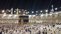 Jemaah umrah mulai padati Tanah Suci. (www.haji.kemenag.go.id)