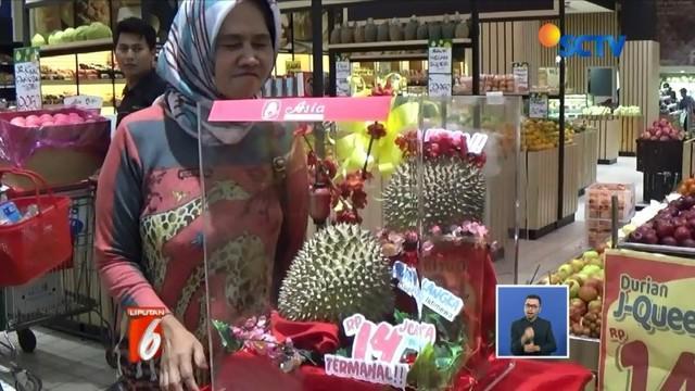 Viral dijual empat durian J-Queen seharga Rp 14 juta per buah di Tasikmalaya.