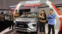 Mitsubishi Xpander meramaikan GIIAS Surabaya 2017. (Septian/Liputan6.com)