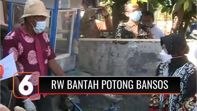 Pengurus lingkungan RW 05 Beji, Depok, Jawa Barat, dituding memotong Bansos oleh warganya sebesar Rp 50 ribu. Namun tudingan tersebut dibantah ketua RW yang mengaku tidak ada pemotongan, namun warga diminta donasi perbaikan ambulans.
