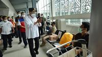 Kunjungan Kerja Menhub Budi Karya Sumadi dalam rangka peninjauan sarana dan prasarana transportasi di Provinsi Sumatera Utara, Sabtu (7/11/2020). (Dok Kemenhub)