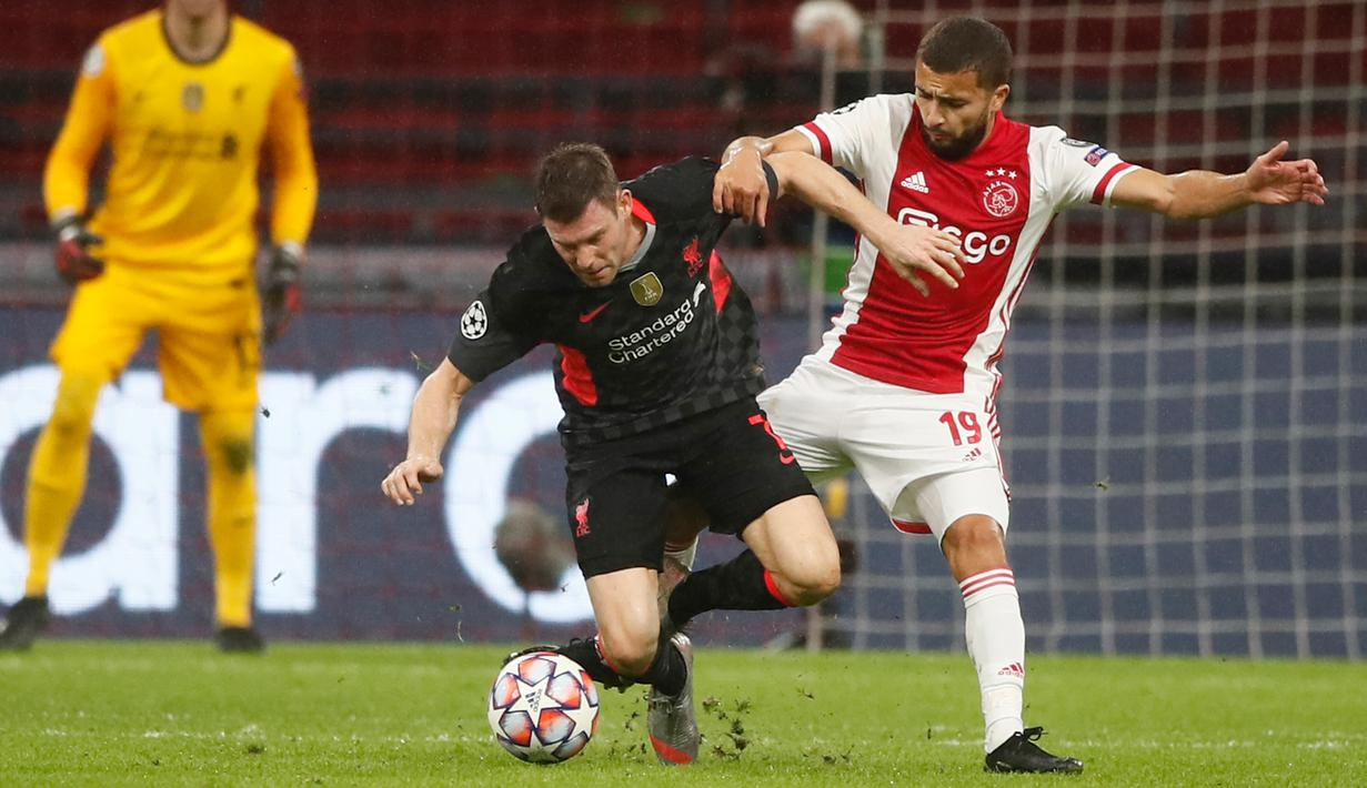 FOTO: Liverpool Curi Kemenangan di Markas Ajax - Bola ...