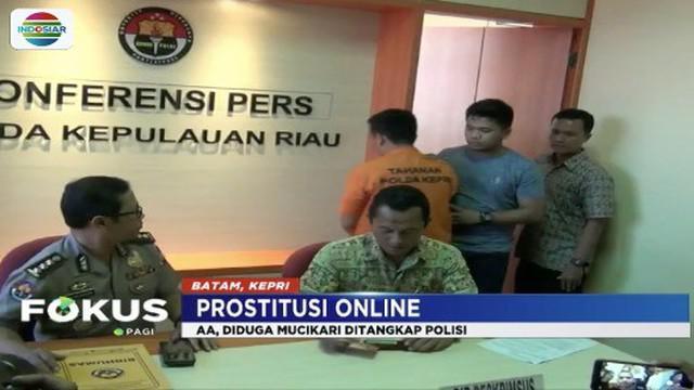 Polisi di Batam, Kepri, tangkap pelaku perdagangan manusia dengan memperkerjaakan puluhan orang sebagai pekerja seks komersial yang umumnya berusia belia.