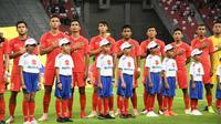 Timnas Singapura siap berikan perlawan saat melawat ke markas Thailand pada laga lanjutan Grup B Piala AFF 2018. (AFF Suzuki Cup)