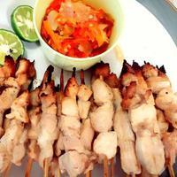 menikmati lezatnya 'sate putih' dalam 10 potret nan lezat.| Via: cookpad.com