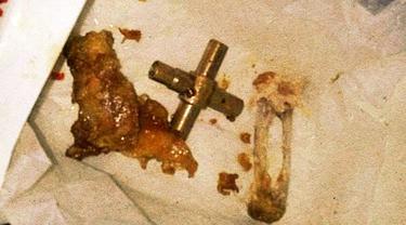 Komponen Pipa Ditemukan di Kotak Ayam Goreng