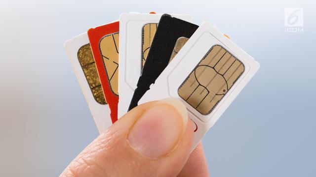 Cara Registrasi Ulang Kartu SIM Telkomsel, XL, Indosat, Tri, Smartfren - Citizen6 Liputan6.com