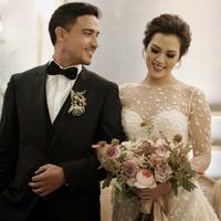 Raisa dan Hamish Daud resmi menikah. (Instagram/raisadanhamish)