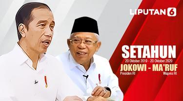 Setahun Jokowi - Ma'ruf Amin
