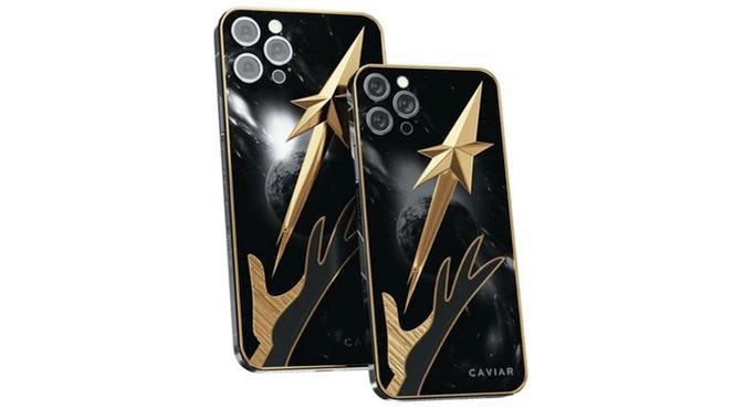iPhone 12 Pro Max edisi Sergei Korolev. (Doc: Caviar)
