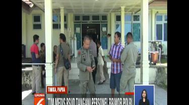 Rencananya jenazah Bharada Aldy akan dibawa ke markas Brimob Detasemen B Polda Papua di Timika sebelum diterbangkan ke Jakarta.