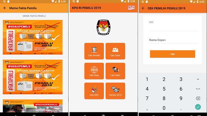 Yuk, Cari Tahu Informasi Soal Pemilu 2019 di Aplikasi Ini - Tekno Liputan6.com