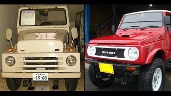 Hadir Sejak 1970, Ini Deretan Suzuki Jimny dari Masa ke Masa