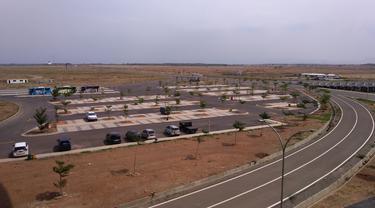 Lokasi parkir Bandara Kertajati
