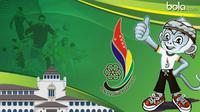 Logo Pon Jabar 2016 (bola.com/Rudi Riana)