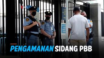 VIDEO: Begini Pengamanan Sidang Majelis Umum PBB di Tengah Pandemi Covid-19