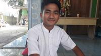 Pemain Timnas Indonesia U-23 Muhammad Hambali Tolib. (Liputan6.com/Pramita Tristiawati)