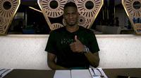 Amido Balde, striker Persebaya. (Bola.com/Aditya Wany)