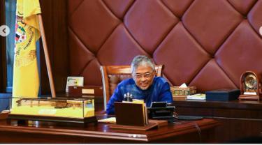 Raja Malaysia Al Sultan-Abdullah menelepon Presiden Joko Widodo. (Instagram @istana_negara)