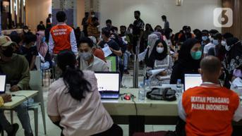 83 Juta Lebih Warga Indonesia Sudah Divaksinasi Covid-19 Dosis Pertama