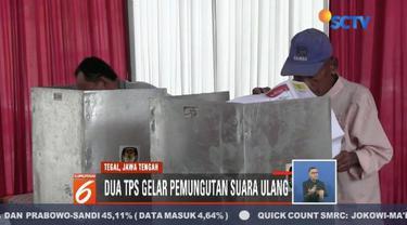 Mulai adanya warga dengan KTP luar kota yang mencoblos tanpa formulir A-5 hingga surat suara yang tertukar, warga di Tegal dan Subang lakukan pemungutan suara ulang.