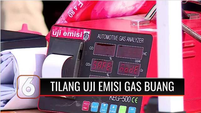 Sanksi tilang ratusan ribu rupiah akan diberlakukan di Jakarta, bagi kendaraan yang tidak melakukan uji emisi. Sanksi mulai diberlakukan pada 13 November mendatang.