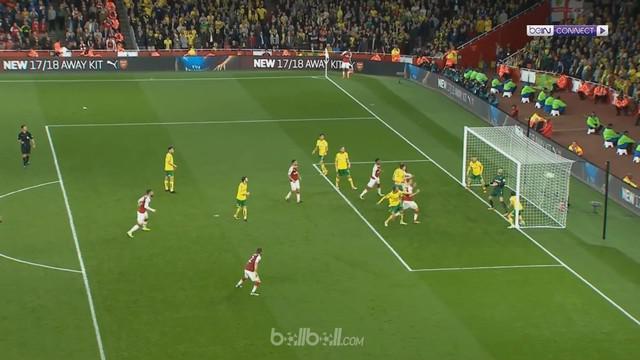 Berita video highlights Piala Liga Inggris 2017-2018, Arsenal vs Norwich City 1-1 dan extra time 2-1. This video presented by BallBall.