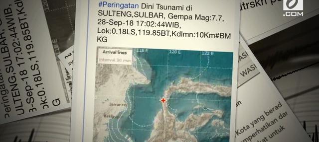 Video Donggala Diguncang Gempa Magnitudo