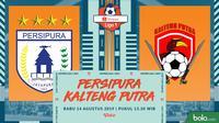 Shopee Liga 1 - Persipura Jayapura Vs Kalteng Putra (Bola.com/Adreanus Titus)