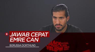 Berita Video Jawab Cepat Emre Can, Siapa Pemain Paling Lucu di Borussia Dortmund?