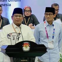 Prabowo-Sandi mendapat nomor urut 2 dalam Pilpres 2019. Pada sambutannya, Prabowo serukan pada masyarakat bahwa pemilu bukanlah ajang untuk mencari kesalahan dan kekurangan paslon lain.
