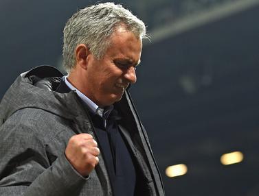 Ekspresi Mourinho Saat Antarkan MU ke Final Liga Europa
