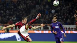 Fernando Torres - Mantan bintang Liverpool ini pernah menjadi bagian dari AC Milan pada musim 2014/2015. Ketika itu Torres datang ke Italia dengan status pinjaman selama dua tahun. (Foto: AFP/Olivier Morin)