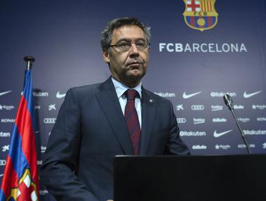 FOTO: Dosa-dosa Josep Maria Bartomeu sebelum Terkuaknya Skandal Barcagate di Barcelona - josep Maria Bartomeu