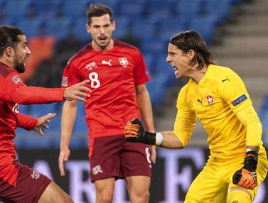 Kartu Merah dan 2 kali Gagal Penalti Warnai Keberhasilan Swiss Menahan Imbang Spanyol