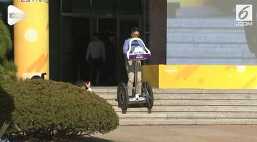 Insinyur di pusat penelitian dan pengembangan Hyundai Motor Co. di kota Hwaseong tengah,  Korea Selatan telah memamerkan ide-ide kreatif dan inovatif mereka untuk mobil masa depan.