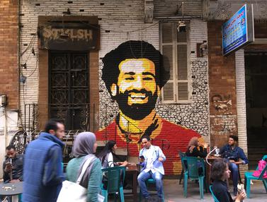 Mohamed Salah Positif Covid-19