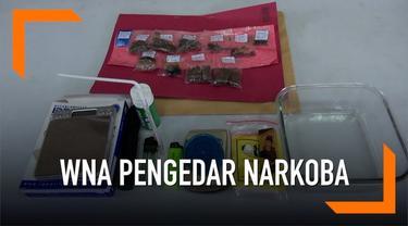 Seorang WNA Prancis edarkan narkoba jenis ganja di Bali.