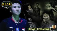 Kolom Erwin Fitriansyah Liliyana Natsir (Bola.com/Adreanus Titus)