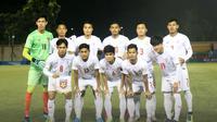 Timnas Myanmar U-22 di SEA Games 2019. (Bola.com/Dok. MFF)