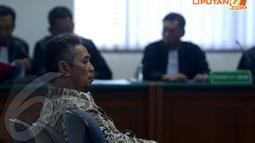 Agenda sidang perdana ini adalah pembacaan dakwaan dari Jaksa Penuntut Umum dari KPK (Liputan6.com/Johan Tallo)