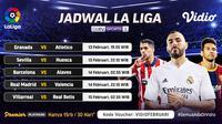 Pertandingan Liga Spanyol pekan ke-23 dapat disaksikan melalui platform streaming Vidio. (Dok. Vidio)