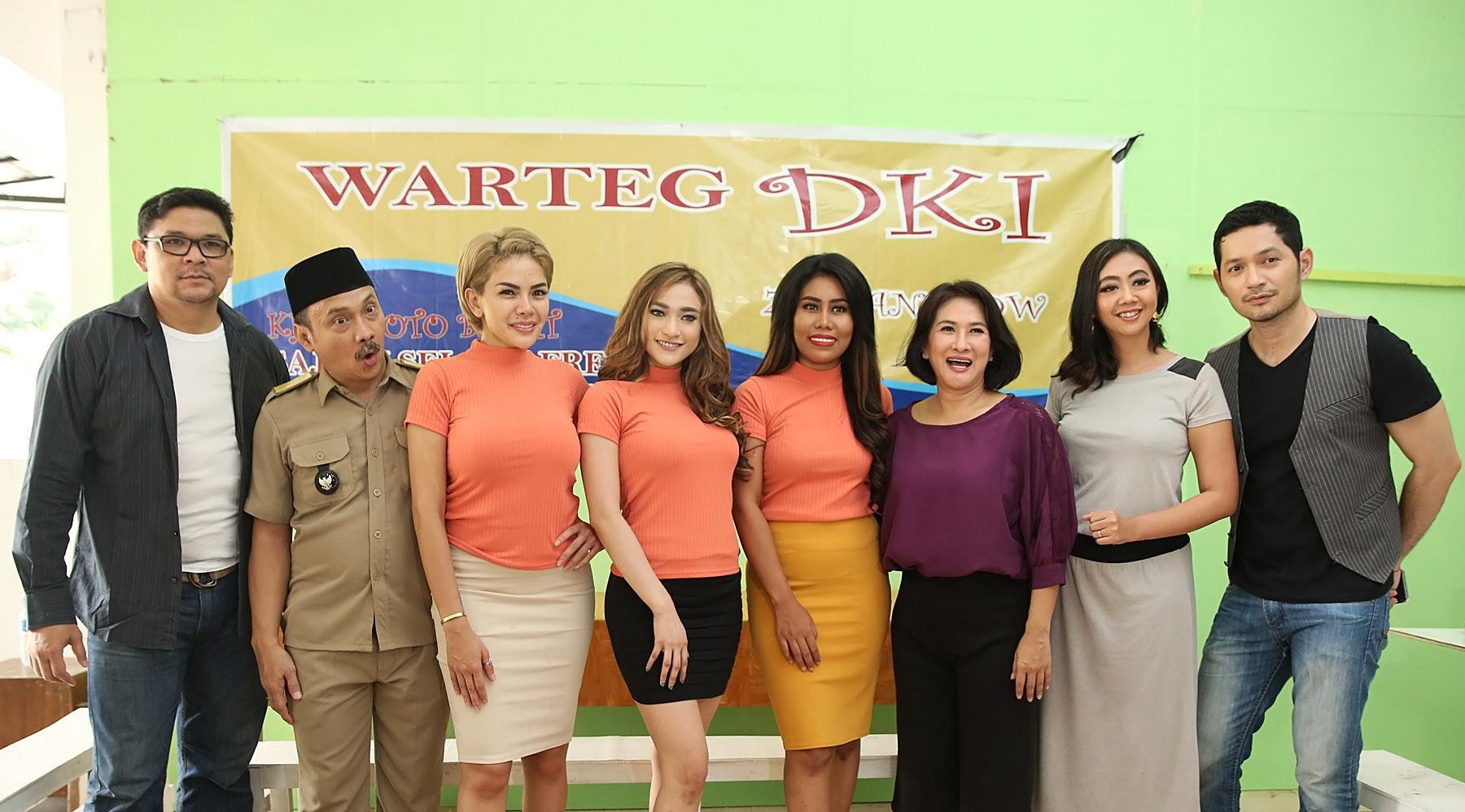 Nikita Mirzani bersama Amel Alvi dan EVi Masamba (Bambang E. Ros/Bintang.com)