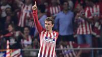 6. Antoine Griezmann (Atletico Madrid) - 3 Gol. (AFP/Javier Soriano)
