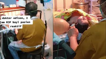 Perjuangan seorang dokter menyelamatkan nyawa bayi.