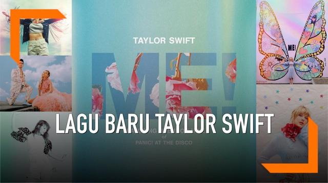 Taylor Swift merilis lagu duet bersama bersama Brendon Urie 'Panic! at The Disco'. Video musik lagu berjudul ME ini menampilkan warna-warna pastel yang menggoda.