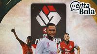 Cerita Bola - Piala Menpora, Assanur Rijal, Syamsuddin Batolla, Marko Simic (Bola.com/Adreanus Titus)