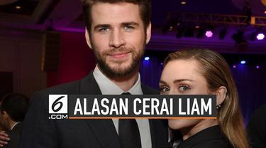 Liam Hemsworth resmi ajukan gugatan cerai dari Miley setelah 7 bulan menikah .