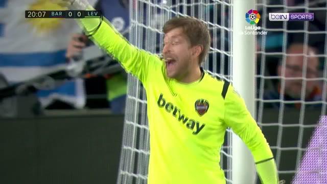 Berita video highlights kemenangan Barcelona atas Levante 1-0, sekaligus mengantarkan Blaugrana menjadi juara La Liga 2018-2019, Sabtu (27/4/2019).