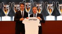 Julen Lopetegui resmi menjad pelatih Real Madrid. (doc. Real Madrid)